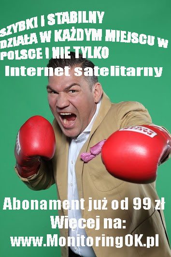 internet satelitarny